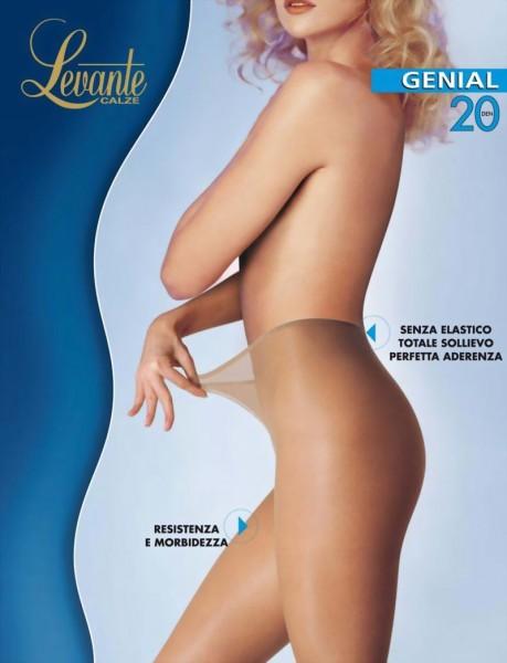 Levante - Comfortable no waistband tights Genial 20 DEN