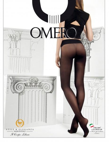 Bezszwowe rajstopy z wygodnym wykończeniem w talii marki Omero