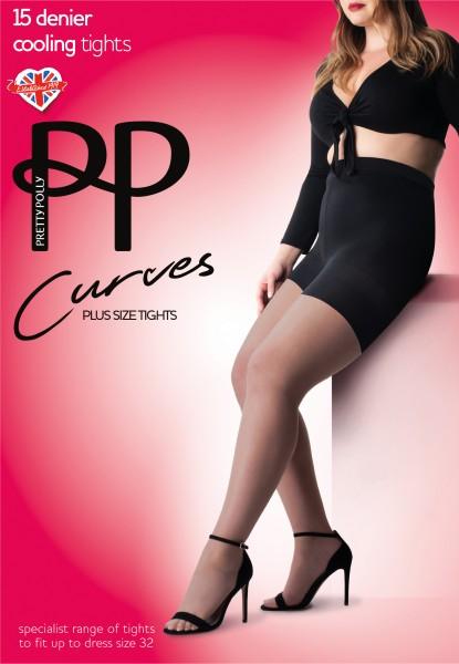 Pretty Polly Curves - Chłodzące rajstopy dla kobiet o pełnych kształtach