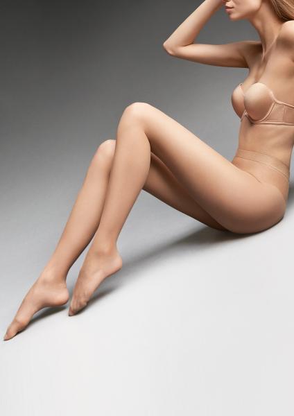 Marilyn Riviera 7 - Bardzo cienkie rajstopy z efektem make-up'u