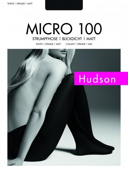 98a1fd05b3bb14 Hudson Micro 100 - Gładkie kryjące rajstopy z microfibry